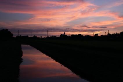いつかの夕日