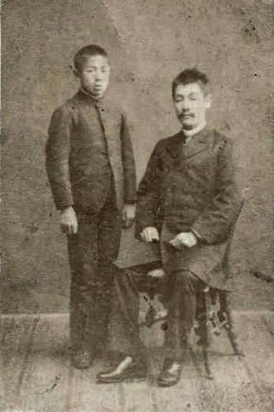 1:小山作之助と杉田直次郎(明治20年代後半)