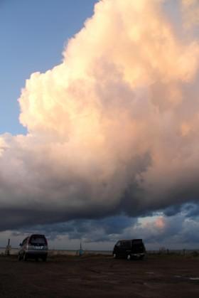 鵜の浜の雲