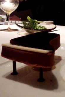pianoのチョコレートケーキ