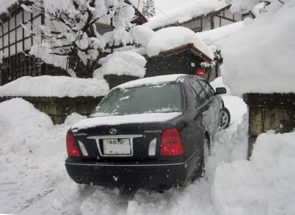 雪中のプログレ