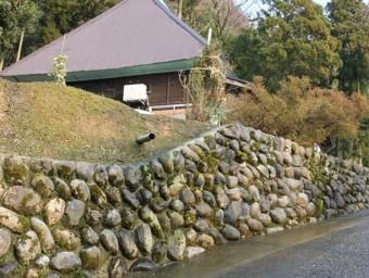 民家の石垣