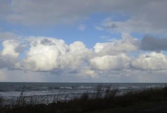 日本海の積雲