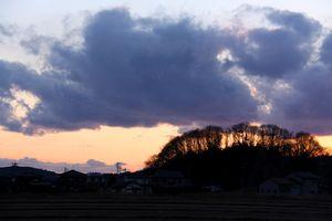 和島の夕暮れ
