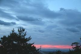 6月24日の朝空