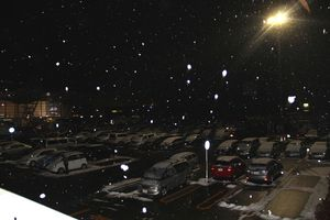 6新潟空港の雪