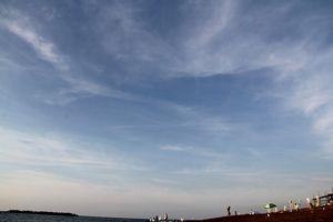 鵜の浜の海