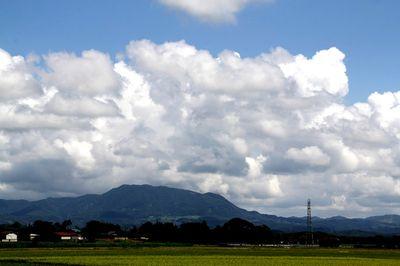尾神岳の雲