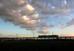 4上り電車