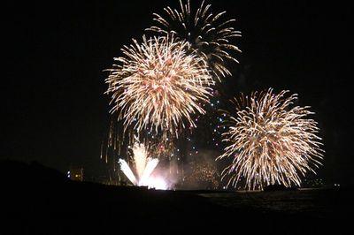 鵜の浜の花火