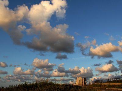 上下浜の雲