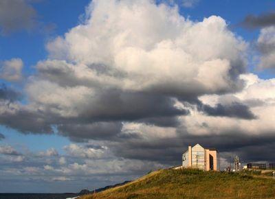 ハマナスの雲