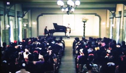 3奏楽堂に於ける送別音楽会