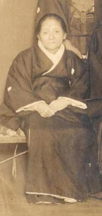 大正10年作之助の長男藩氏結婚式で作之助の母トヨ