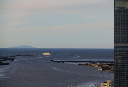 粟島と佐渡汽船