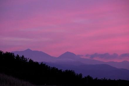 燧岳と焼山