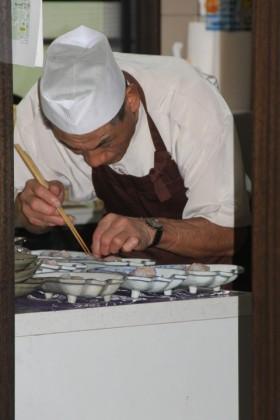 厨房の松本氏
