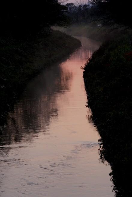 近くの小川