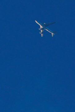 3ジェット旅客機が一機