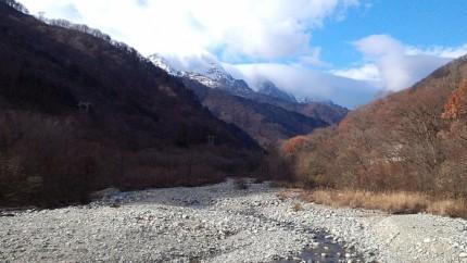 谷川岳遠景