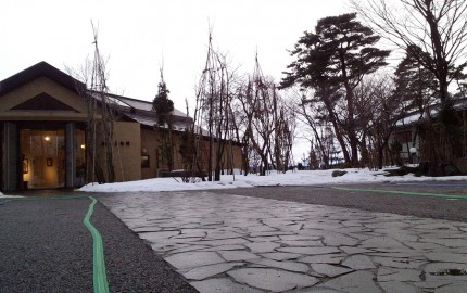 本日夕刻の樹下美術館