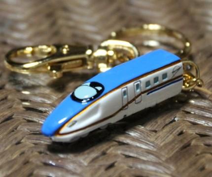 新幹線のキーホルダー