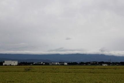 関田山脈の雲