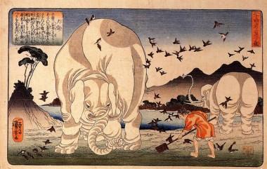 歌川国芳の版画