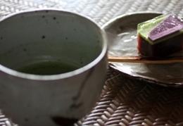 志賀さんのお茶碗で