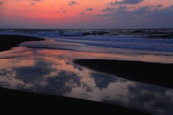 2月3日の浜