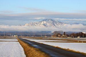 米山の層雲