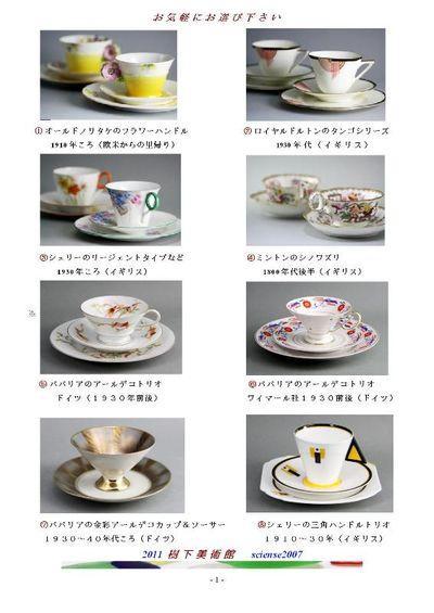 カフェ・洋食器