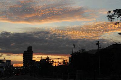 髙田の夕焼け